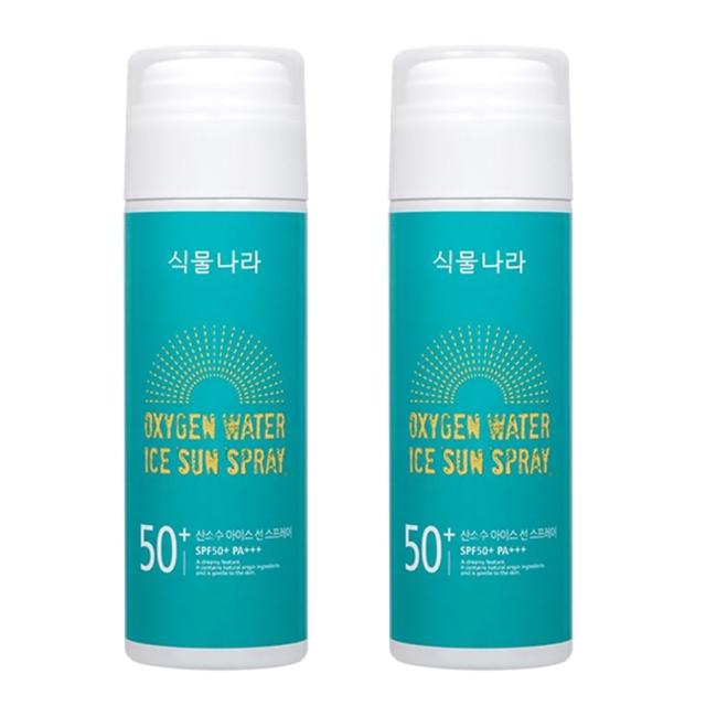 식물나라 산소수 아이스 선 스프레이, 150ml, 2개 (POP 9734543)