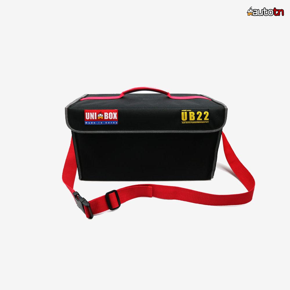 AB UB22 신제품 오토바이 패스트푸드 햄버거 100% 국산 배달가방 배달통 퀵서비스, 1개, 블랙