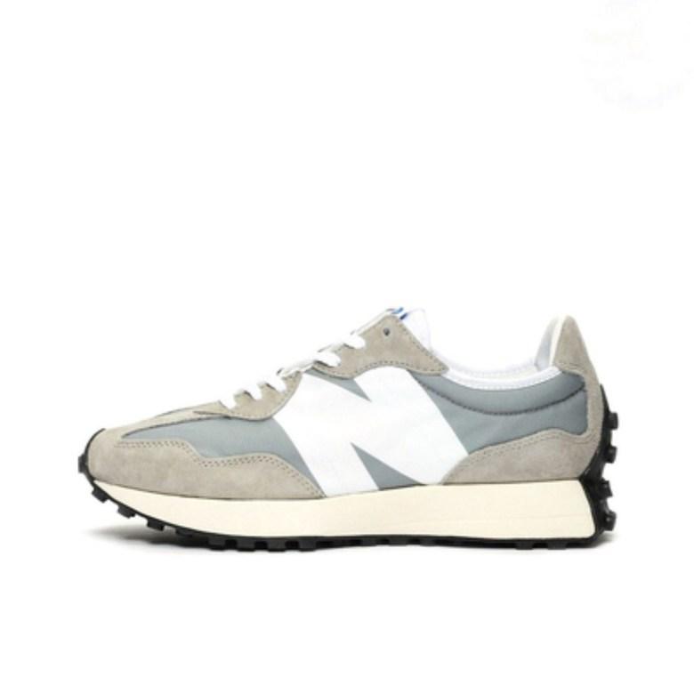 뉴 발란스 신발 nb327 스티치 블랙 그레이 블루 오렌지 레트로 캐주얼 운동화