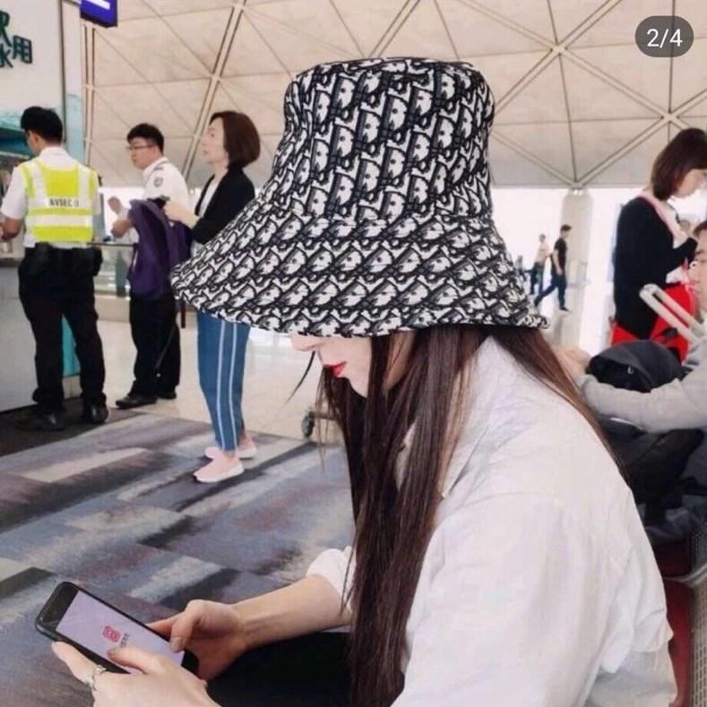 디올09 해외11 여성용 버킷햇 벙거지 모자