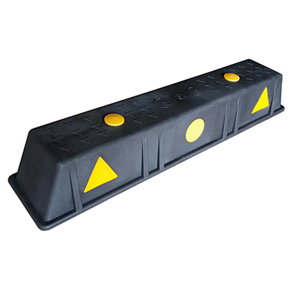 우리안전 카스토퍼 PP HA504 합성수지 주차블럭 차량용품, 1개