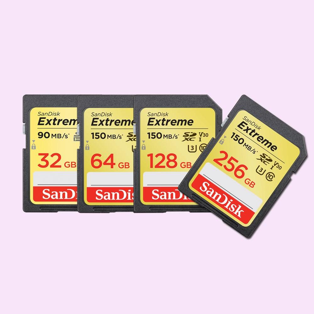 샌디스크 익스트림 프로 Class10 SD카드 SDXV5 128GB 256GB