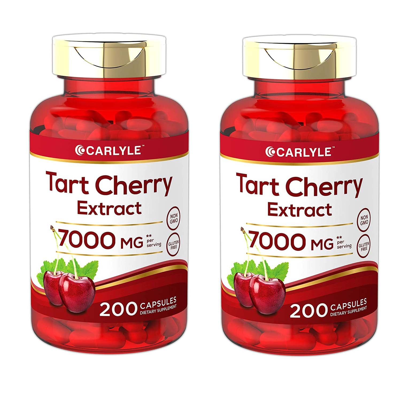Carlyle 타트 체리 캡슐 7000 mg 200캡슐, 4병, 200capsules