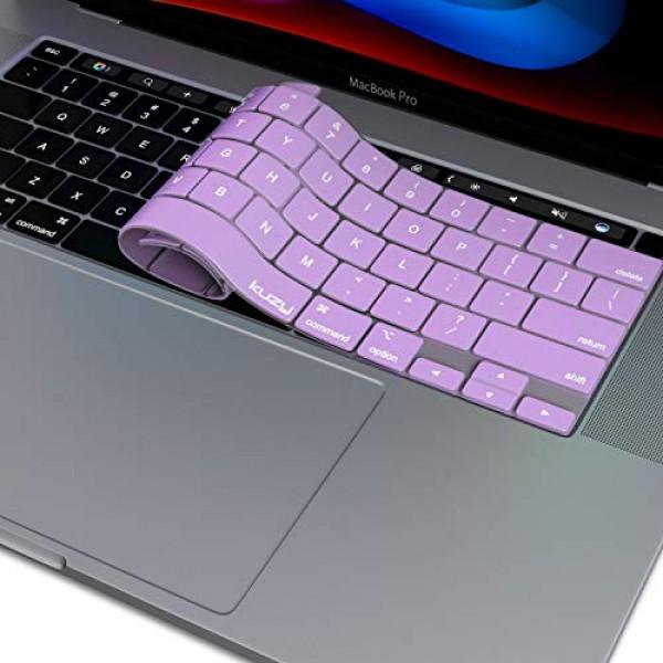 Kuzy New MacBook Pro 13 인치 키보드 커버 2020 A2289 및 MacBook Pro 16 인치 키보드 커버 2019 A21, 단일상품, 단일상품