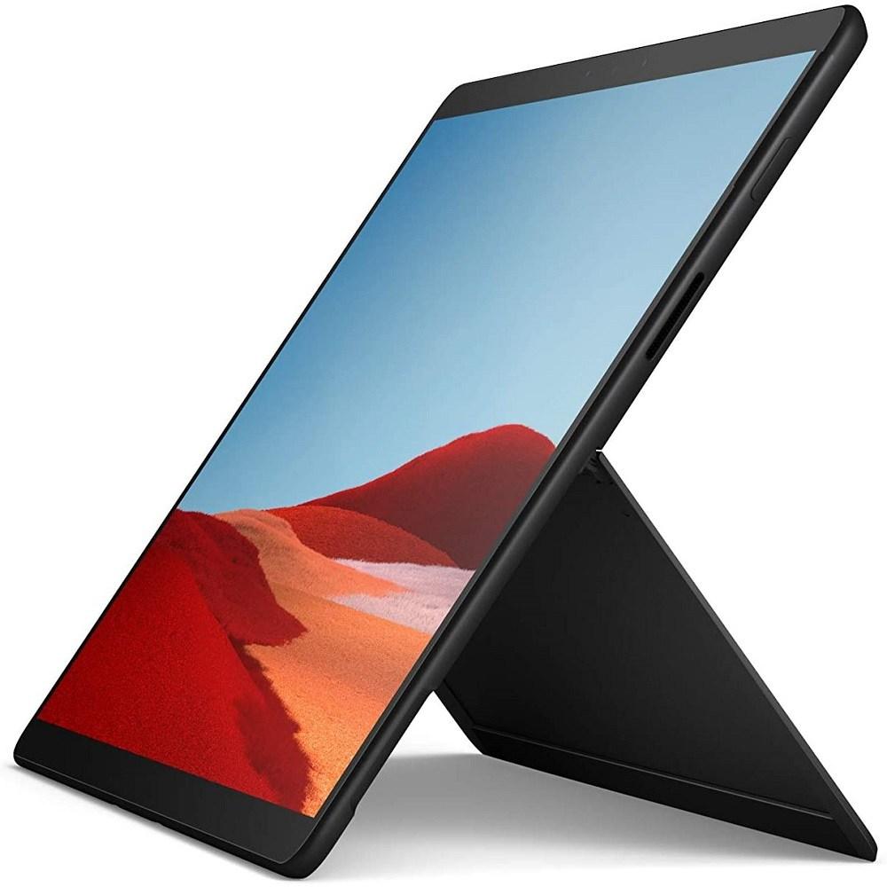 Microsoft MJU-00001 Surface Pro X 13 Touch-Screen SQ1 16GB Memory 512GB Solid State Drive Wifi + 4G Lte Matte Black, SSD 512GB, 포함