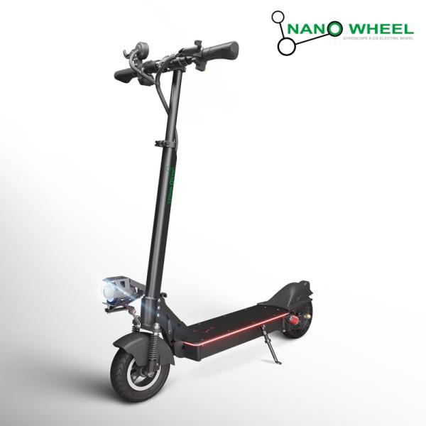 나노휠 [나노휠] 전동킥보드 NQ-AIR 500W Plus+ 프리미엄 36V 10.4Ah, 블랙/(70Km/21Ah 배터리), 블랙 70km 21Ah배터리