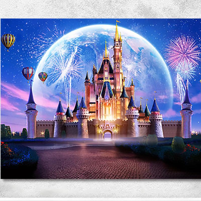 디즈니 피포페인팅 DIY 명화그리기 유화그리기 캔버스, 8번, 40x50cm
