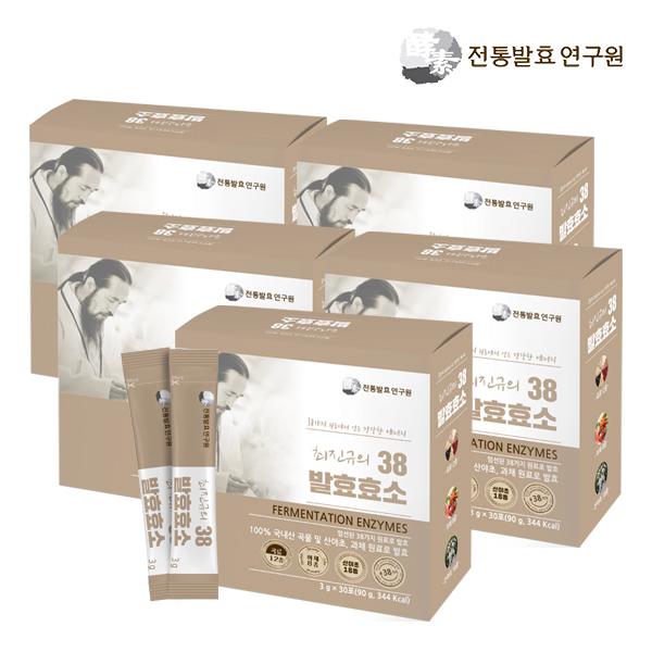 전통발효연구원 최진규의 38발효효소, 3g, 150개입