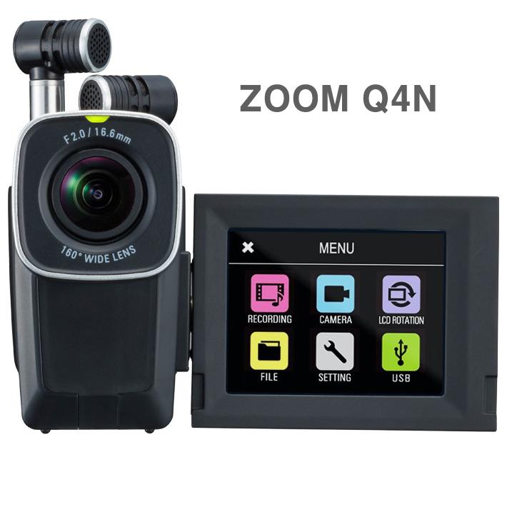 ZOOM 정품ZOOM Q4N 유튜버먹방 ASMR카메라 유튜브촬영 브이로그 방송장비 강의미팅설교 연구자료 콘서트 캠코더, ZOOM Q4N 16GB