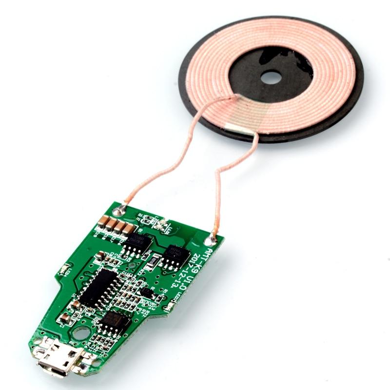 QI 5V QI 무선 충전기 모듈 송신기 PCBA 회로 보드 + 코일 용 SAMUNG S9 S8 S7 용 APLE 워치 충전기 1 2 3 4, N11 (POP 5707451188)