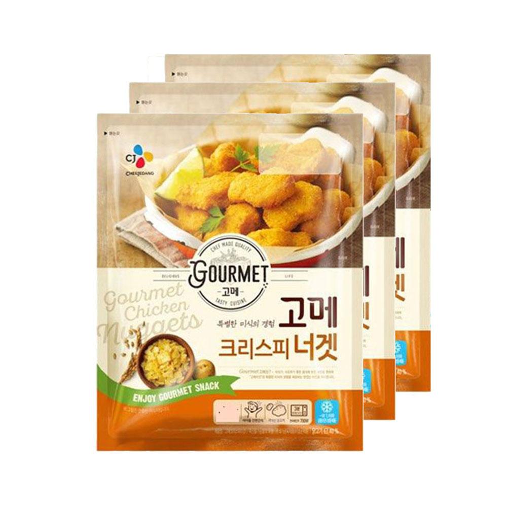 (냉동)고메 크리스피너겟 550gx3개, 1세트