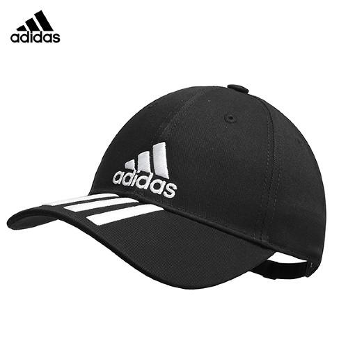 아디다스 6P 3S 코튼 볼캡 모자 블랙 DU0196, DU0196:여성(W)