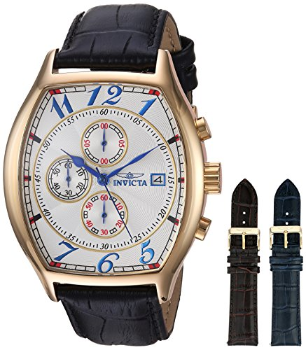 Invicta 인빅타 14330 남성 손목시계 Mens Specialty 18k Yellow Gold-Plated Watch B00ATUKPRE