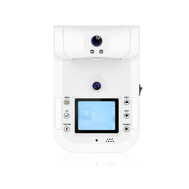 안면인식 얼굴인식 체온측정기 체온계 얼굴사진촬영 벽걸이 열체크기계 적외선 온도감지 사무실 체온 공장 학교 식당 온도체크 (관부가세 포함), K3표준구성 (2GB 메모리) +1.6m브래킷개