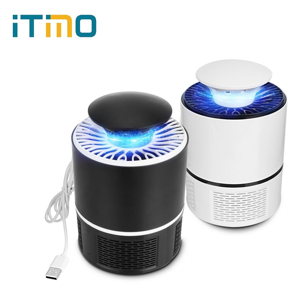 Itimo 플라이 버그 재빠른 곤충 repeller usb 광촉매 모기 킬러 램프 모기 킬러 라이트 전기 안티 트랩 램프 5 v led, 1개, 검정