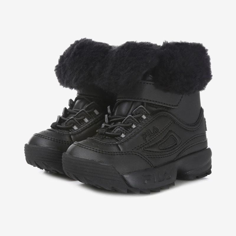 [아동부츠/휠라키즈] 패션과 따뜻함을 동시 저격한 부츠 / FK1CBB4014X