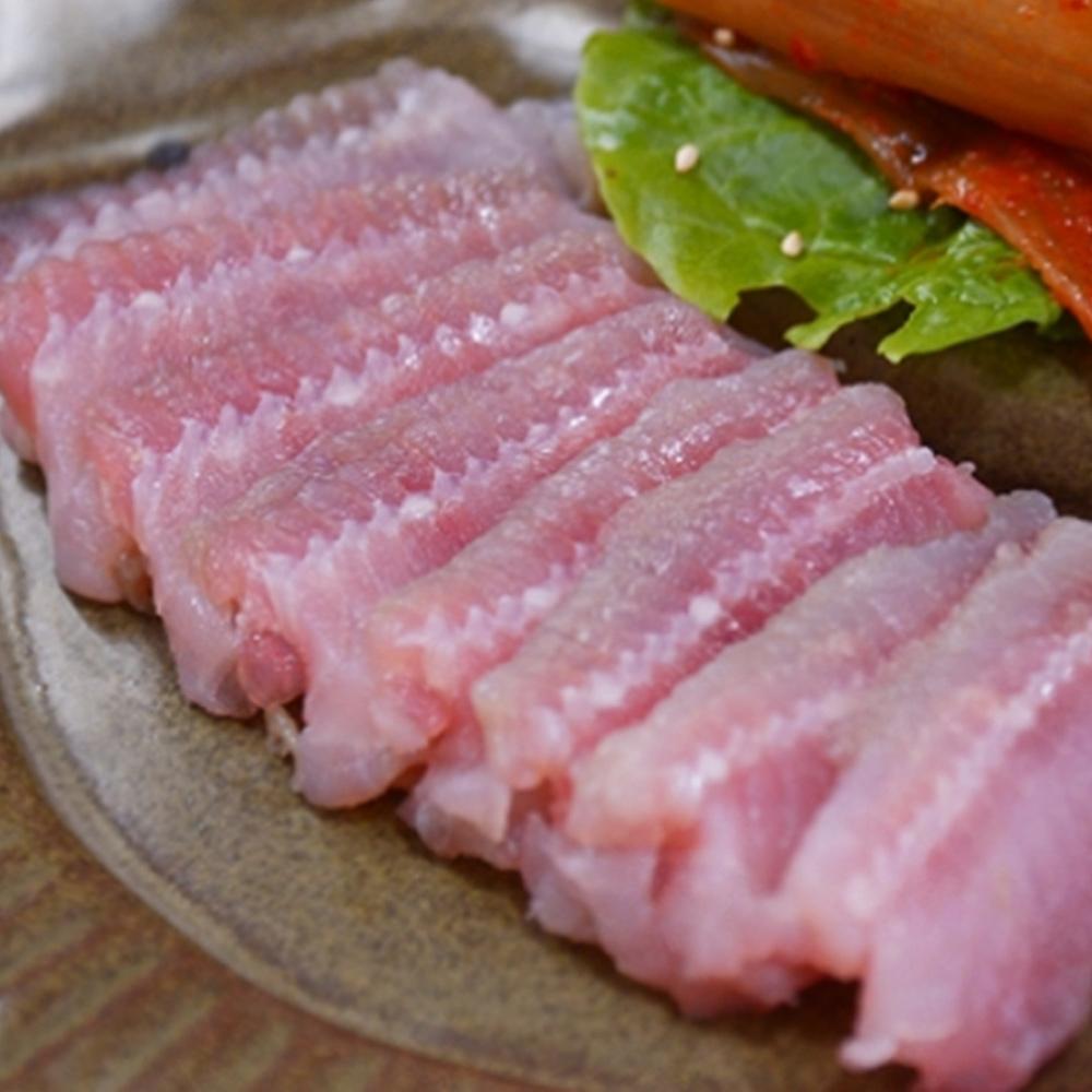 [산정] 항아리숙성 영산포 홍어, 01_모듬 500g(아르헨티나)