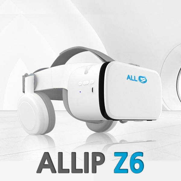 [올아이피정보통신] ALLIP Z6 스마트폰VR 파노라믹 블루투스 헤드폰 VR기기 VR추천, 상세 설명 참조