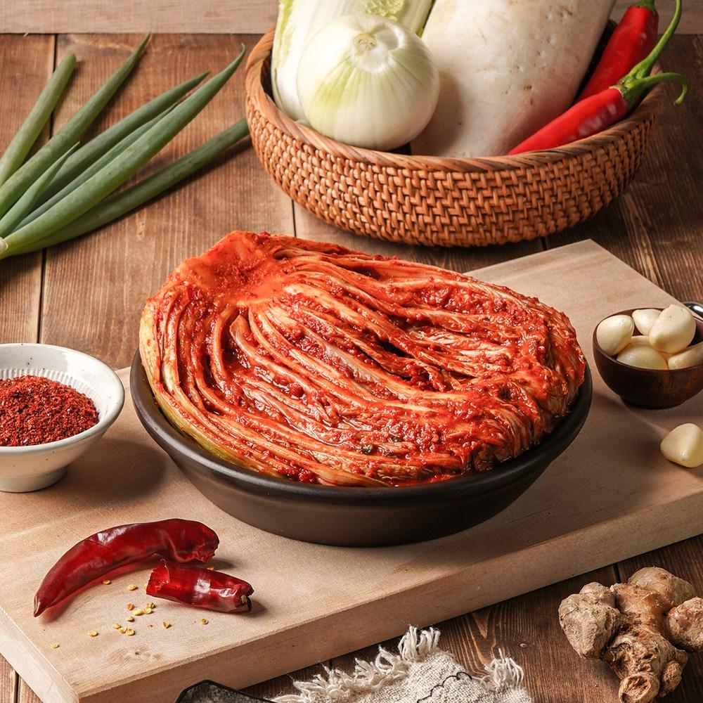100% 우리 농산물로 만든 위드 국산김치 배추김치 포기김치, kg, 5kg