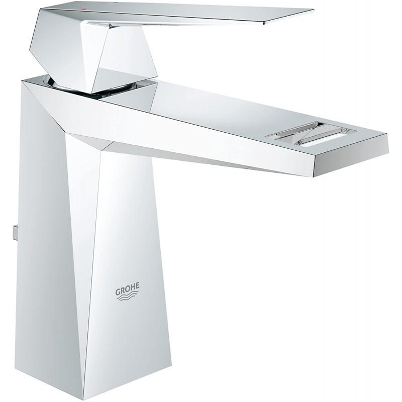 Allure Brilliant 싱글 핸들 싱글 홀 욕실 수전-1.2 GPM, 1