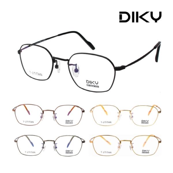 하우스브랜드_아코비젼 DIKY 정식수입 디키 5종택1 베타 티타늄 안경테 1
