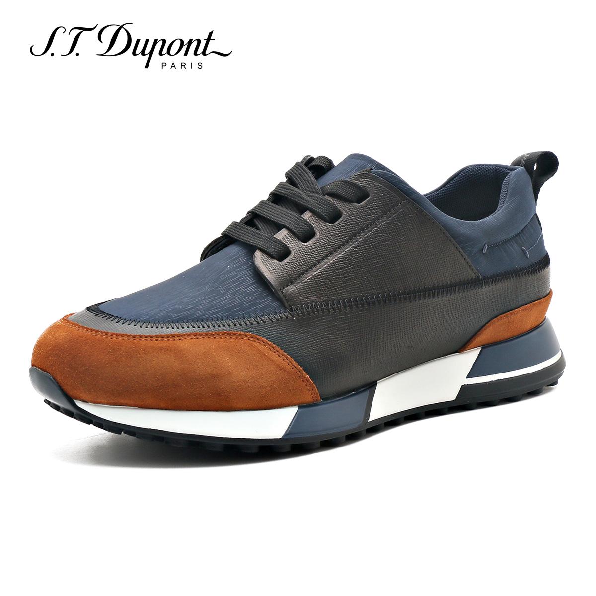 남자스니커즈 S.T.Dupont/캐주얼신발 운동화 남성 런닝화 신발 유행하는남성복 G27119804
