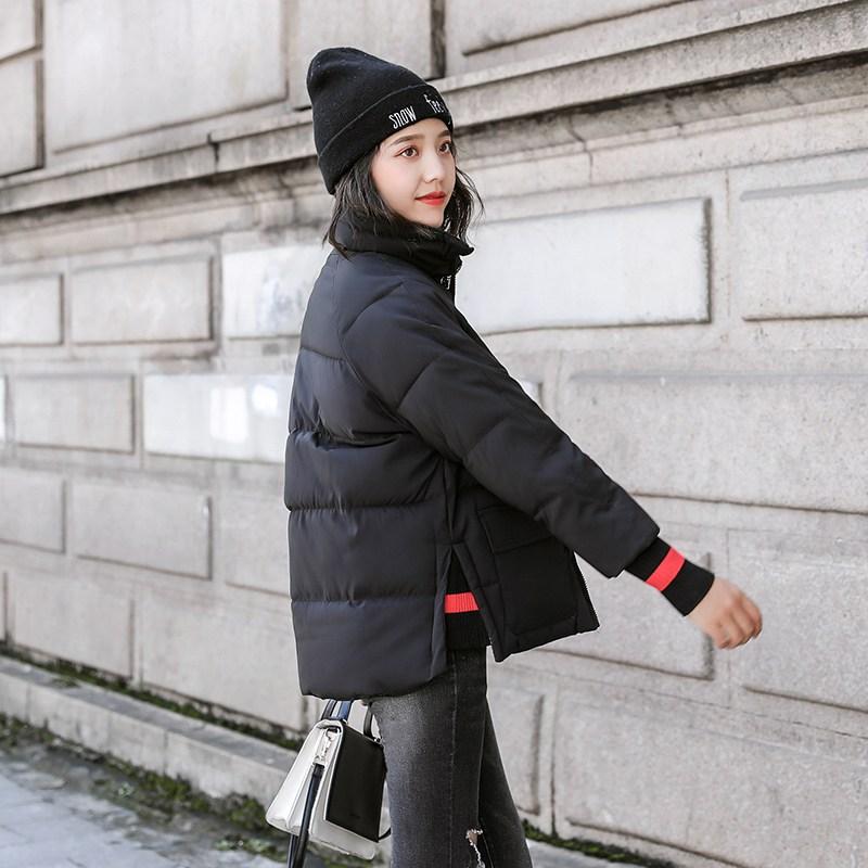YX SHOP 겨울 여성 숏 패딩 슬림핏 후리스 후드 다운 자켓 코트 아우터 A0081