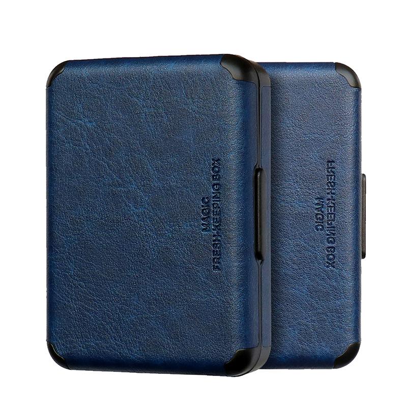 권렬 전자 담배 케이스 아이코스 듀오3 릴 하이브리드 2.0 플러스 파우치, 파랑색