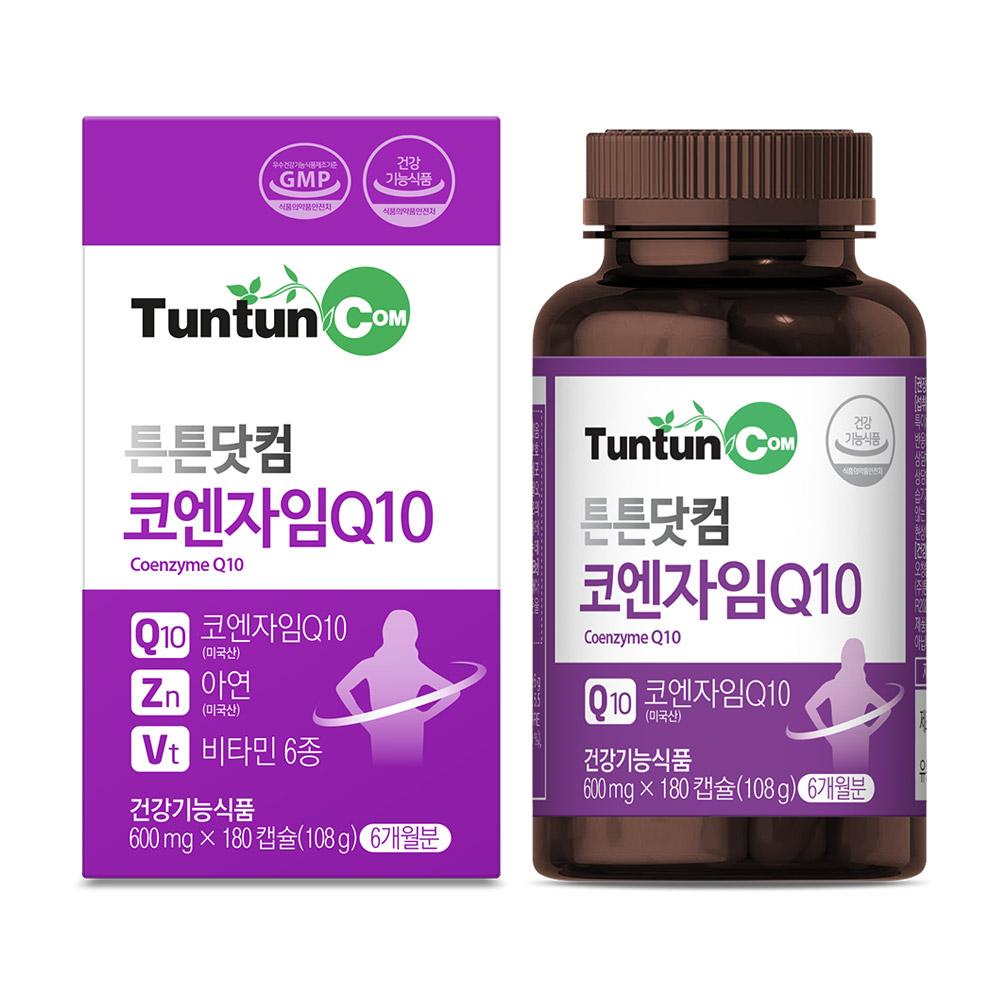 튼튼닷컴 코엔자임 Q10 [6개월분] 코큐텐, 108g, 1개, 1개, 180캡슐