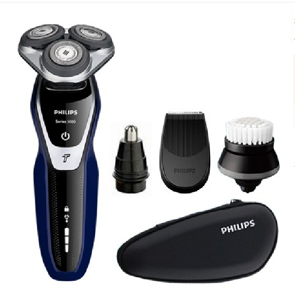 PHILIPS 필립스 충전식 방수 전기 면도기 S5351 풀세트
