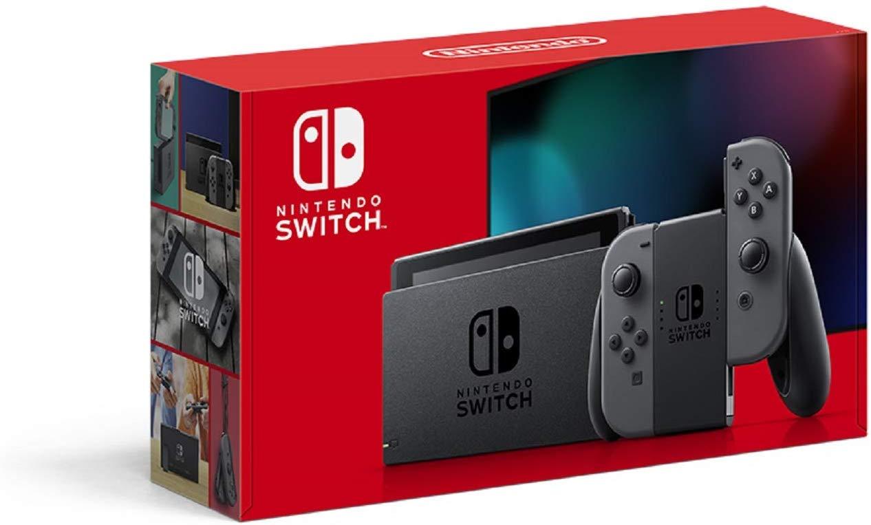 예상수령일 2-6일 이내 닌텐도 Nintendo Switch 본체 (닌텐도 스위치) Joy-Con (L) (R) 그레이 (배터리 지, 상세 설명 참조0