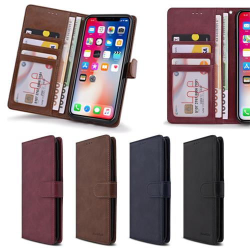 젠틀몽키 갤럭시 A80 A805N 심플리 지폐 카드 수납 지갑 휴대폰 케이스