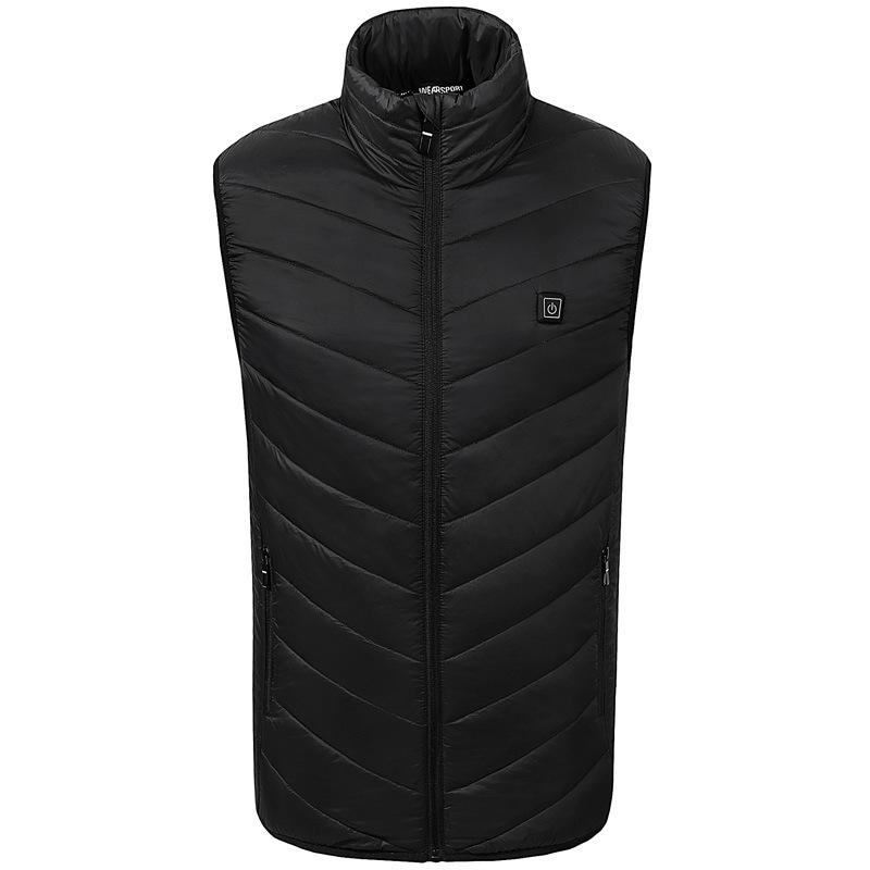 남자발열조끼 그래핀 탄소섬유 발열 조끼 외투스커트 겨울옷 스마트 충전 가열