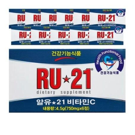 알유 21 비타민C, 6정, 48개