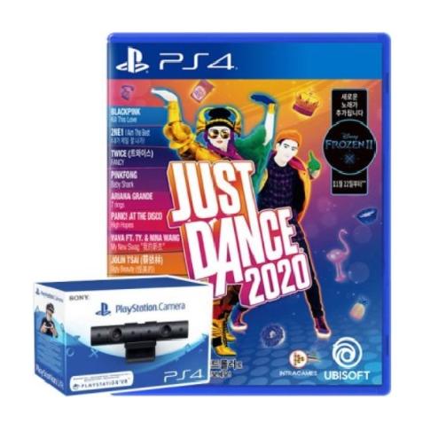 저스트 댄스 2020 + 카메라 PS4 한글판 모션컨트롤러 음악 파티게임