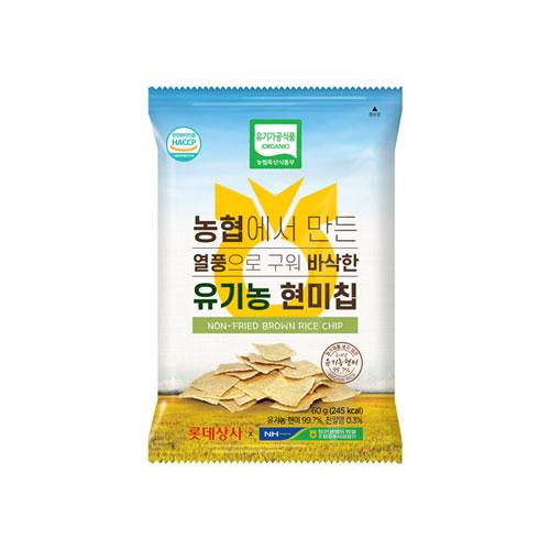 유기농 현미칩 60g * 8ea
