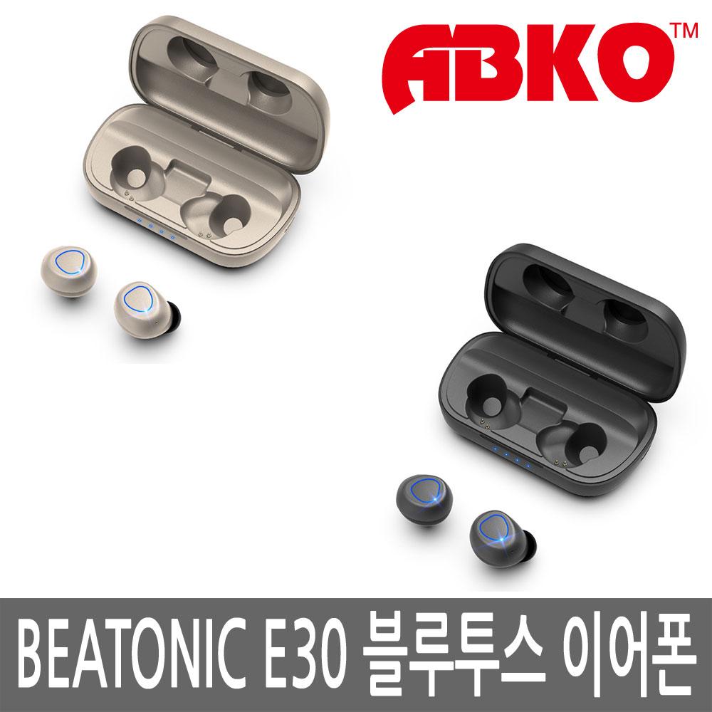 앱코 BEATONIC E30 정품 비토닉 블루투스이어폰, 다크그레이