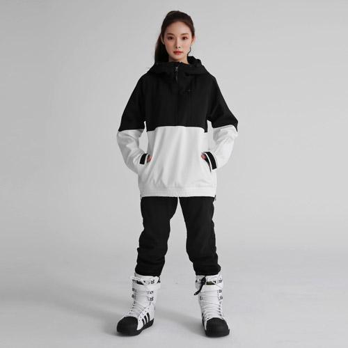 FREELY SNOW 스키&스노우보드복 스판덱스 베이직 조거팬츠 남여공용