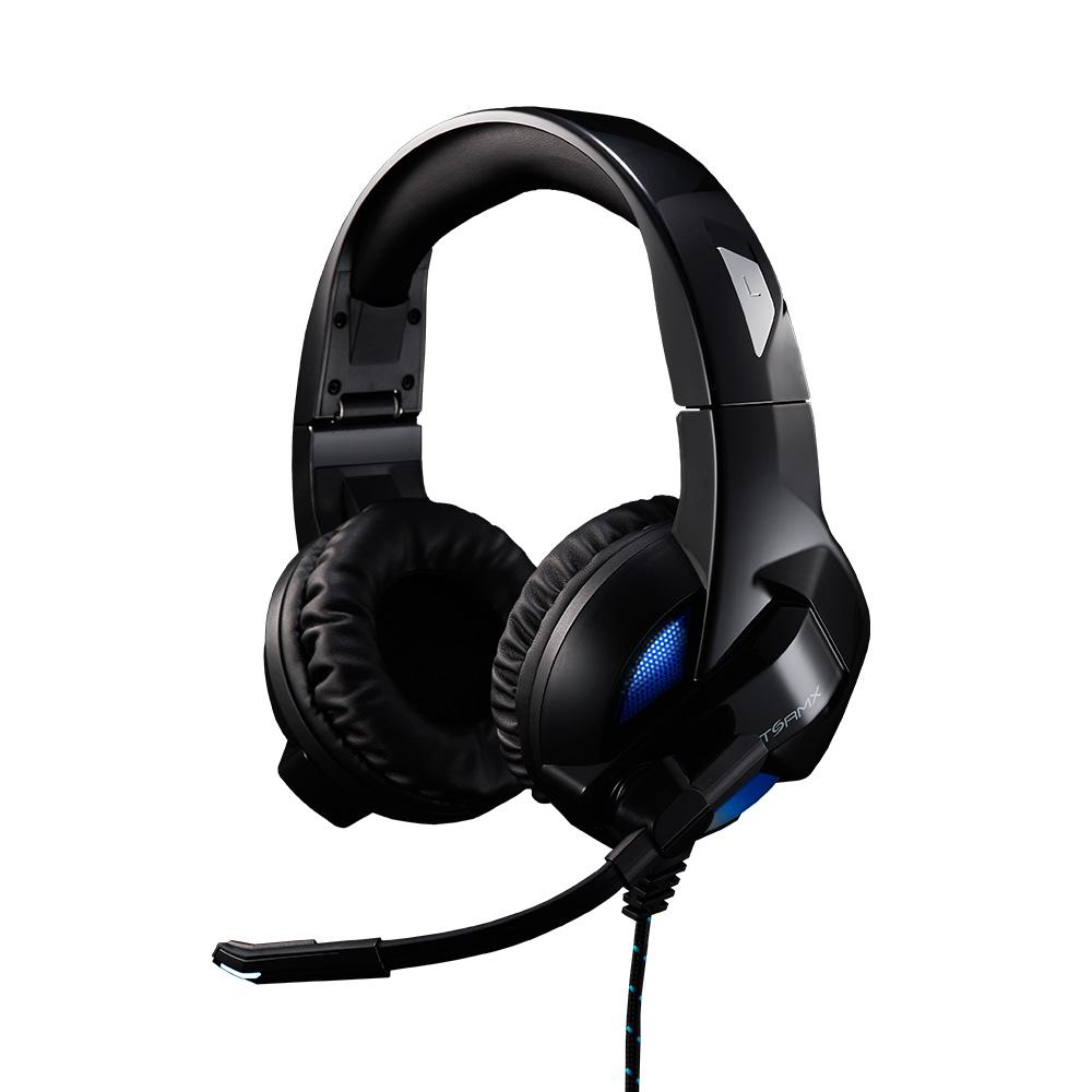 제닉스 게이밍 헤드셋 모음전 7.1채널 진동 마이크 게임용 헤드폰, 제닉스 STORMX H4 게이밍 헤드셋 7.1재널 진동 블랙