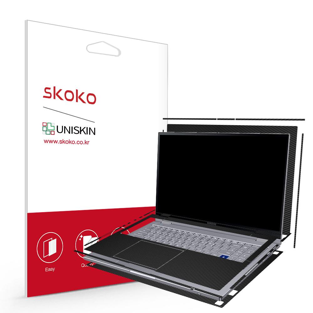 스코코 갤럭시북 플렉스 알파 15인치 NT750QCR NT750QCJ 유니스킨 전신 외부보호필름 4종, 갤럭시북 플렉스 알파 NT750QCR NT750QCJ