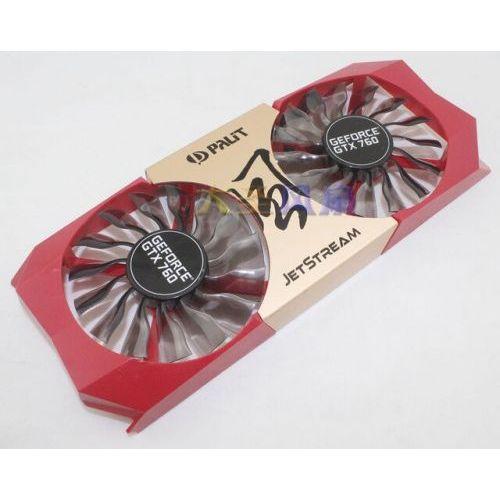 [해외] ORIGINAL 한 PALIT 제트 스트림 GEFORCE GTX760 그래픽 CARD COOLING 팬 GA92S2HPFTB 12 V 0.35A, 상세내용표시