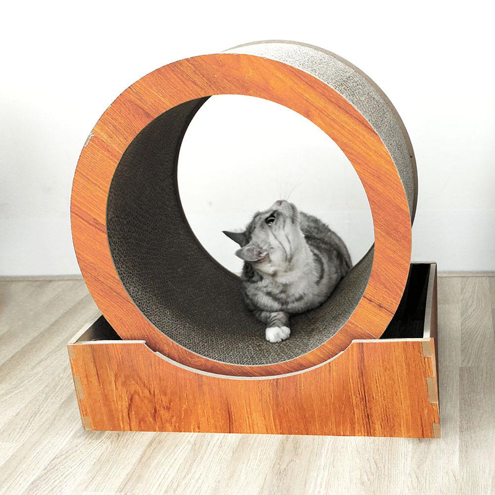 블루캣휠 입문용 가성비 고양이 스크래쳐 캣휠