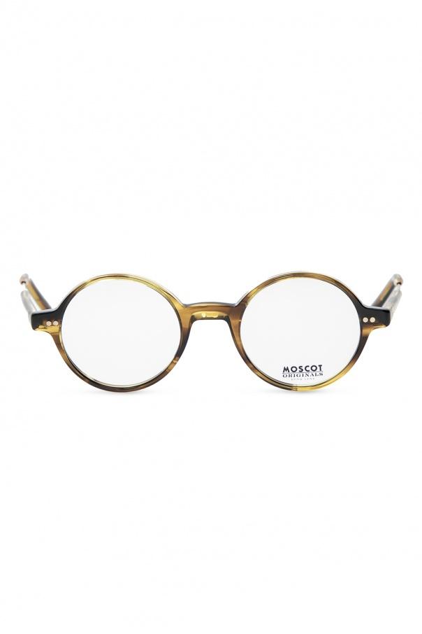 Moscot 'Gittel' optical frames GITTEL 0-0317-01 CARAMEL GOLD 150불 이상 주문시 부가세 별도