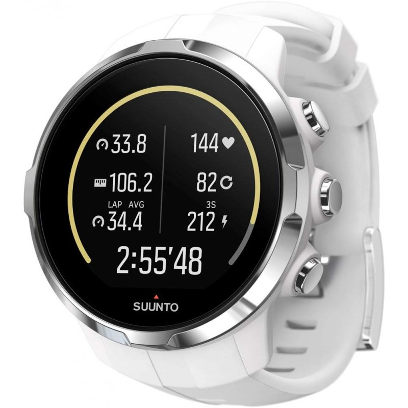 순토 (SUUNTO) 시계 스파르탄 스포츠 화이트 10 기압 방수 GPS 속도 / 거리 / 고도 측정 [일본 정품 메이, 단일상품, 단일상품