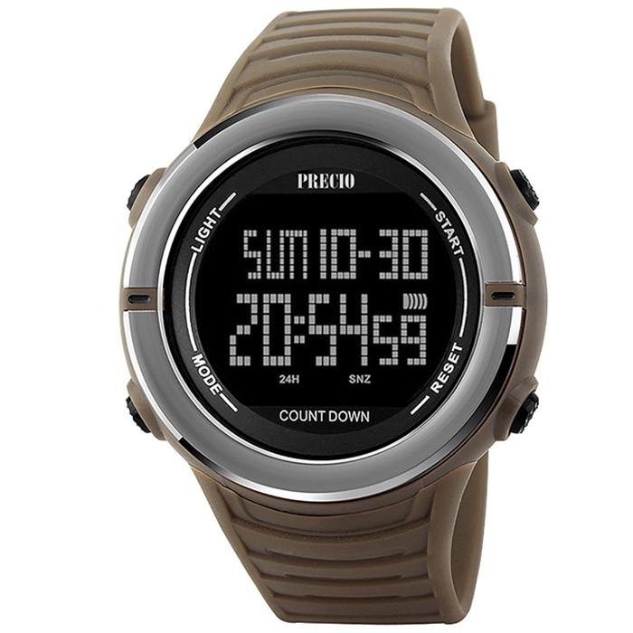 프레시오 전자손목시계 남성용방수 군인 군용 N09