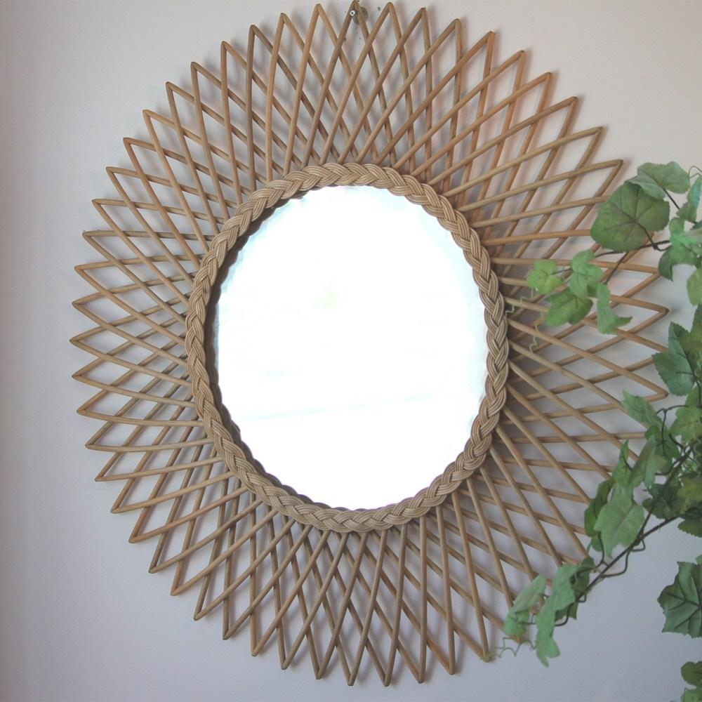 비앙코가구 라탄 원형 거울, 9번