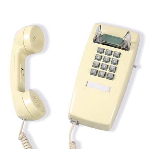 [핫트랙스] 원더스토어 [코텔코] Made in USA 코텔코 빈티지 벽걸이 유선전화기 아이보리, 모델명/품번