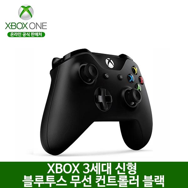 국내대리점정품 XBOX ONE S 3세대 블루투스 무선 컨트롤러 블랙, 옵션없음, 옵션없음