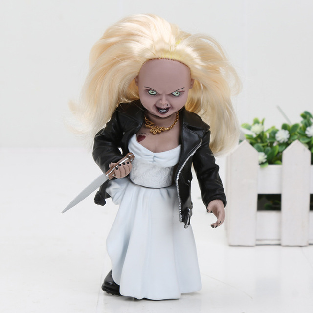 해외직구 NECA 무서운 겁쟁이 인형 처키 110 크기 호러 인형 Bride Chucky no box