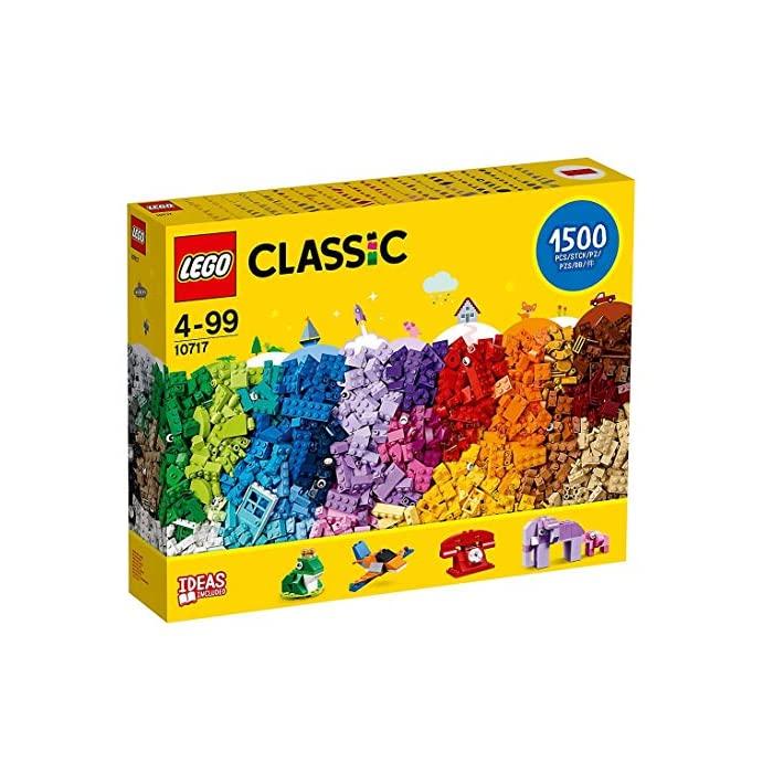 레고 (LEGO) LEGO 클래식 10717 블록 1500 피스 세트 - 모든 연령의 창의성을 촉진 크리에이터에 최적 분리 된, 자세한 내용은 참조